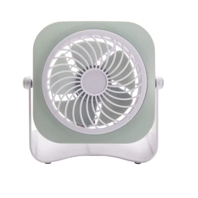 Ventilatore personal EQUATION bianco 3 W Ø 10 cm