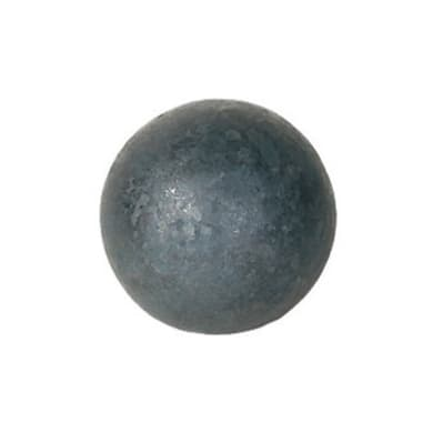 Decorazione per sbarre in ferro battuto , spessore 5 mm