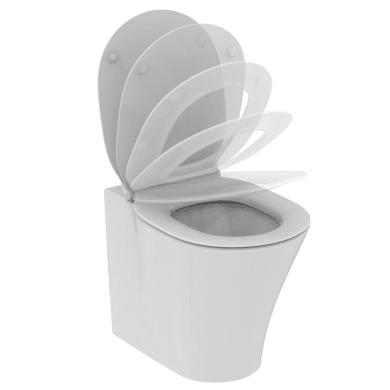 Vaso wc a pavimento filo muro connect air IDEAL STANDARD