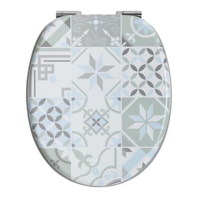 Copriwater ovale Universale Cementina WIRQUIN mdf fantasia