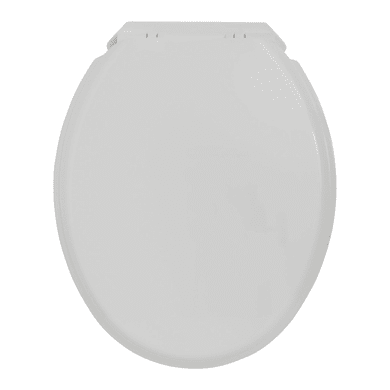 Copriwater ovale Universale First Soft Close WIRQUIN polipropilene bianco