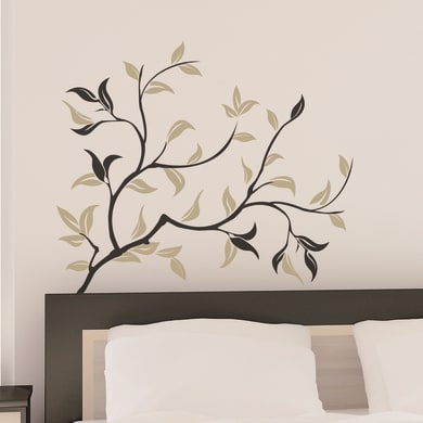 Sticker Gold ramage 67x94 cm