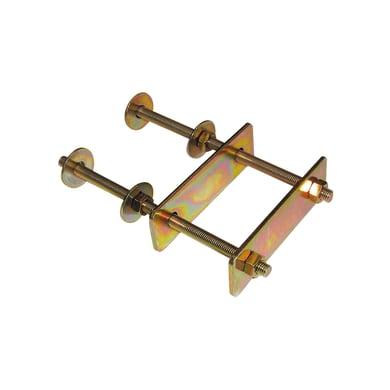 Supporto per palo Staffa in acciaio L 15.5