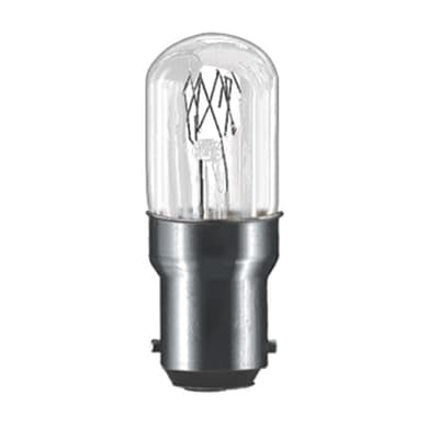 Lampadina Incandescente macchina da cucire B15 bulbo bianco 15W = 75LM (equiv 15W) 300°