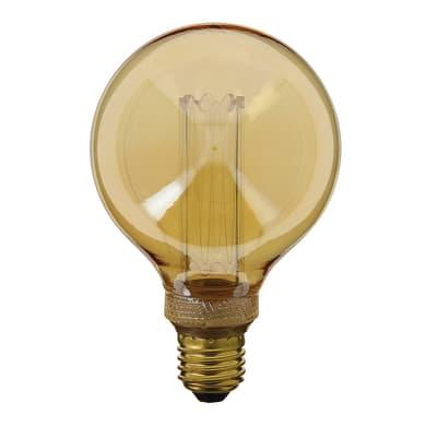 Lampadina LED E27 globo ambrato 40W = 200LM (equiv 40W) 320° XANLITE