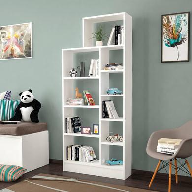 Libreria Zerre L 75.4 x P 22 x H 170.8 cm