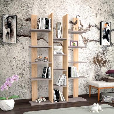 Libreria Misu L 98.6 x P 22 x H 150 cm