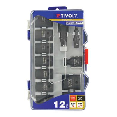 Set di chiavi e bussole TIVOLY , 12 pezzi