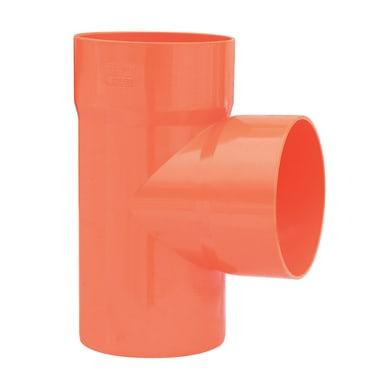 Derivazione arancione in PVC 87° Ø125 mm