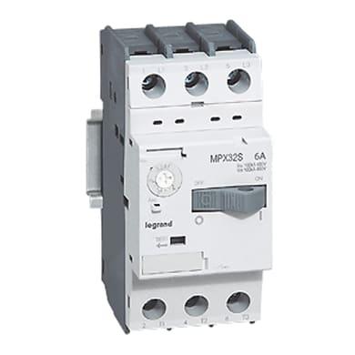 Salvamotore BTICINO 1-1.6A/0.37-0.55KW 3P 6A 2.5 moduli 380V