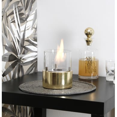 Caminetto a bioetanolo giotto candle gold 0.15 L giallo / dorato
