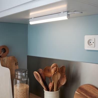 Reglette Moss LED integrato 34.9 cm 4W 400LM IP20 Inspire
