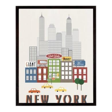 Stampa incorniciata New York 30.7x40.7 cm