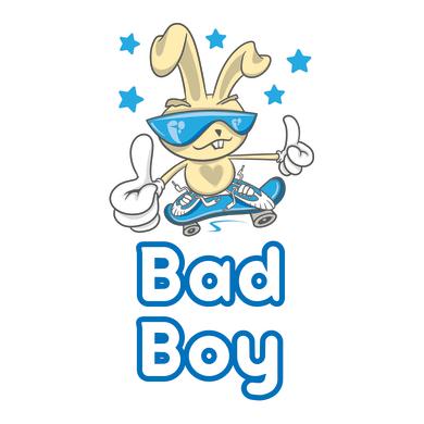 Sticker Bad boy 15x31 cm
