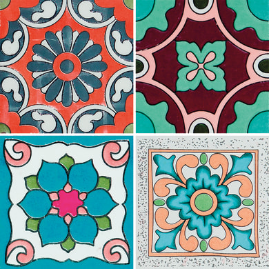 Sticker Piastrella Sicily 20x20 cm