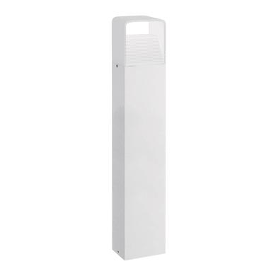 Colonna Donnini H80cm LED integrato in alluminio bianco 6W 600LM IP44 EGLO