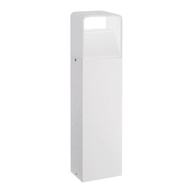 Lampioncino Donnini H40cm LED integrato in alluminio bianco 6W 600LM IP44 EGLO