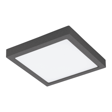 Plafoniera Argolis LED integrato in alluminio, antracite, 22W 2600LM IP44 EGLO