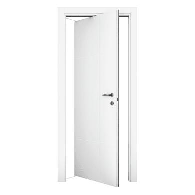 Porta rototraslante City bianco L 80 x H 210 cm sinistra