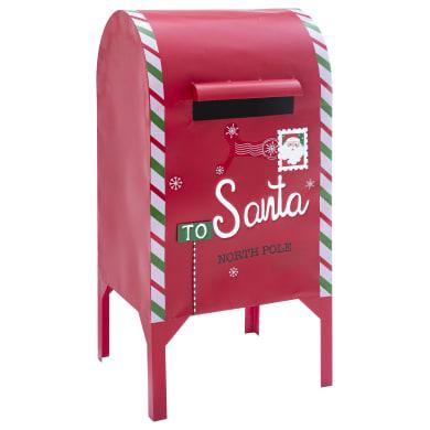 Cassetta postale rosso L 54 x P 50 x H 112 cm