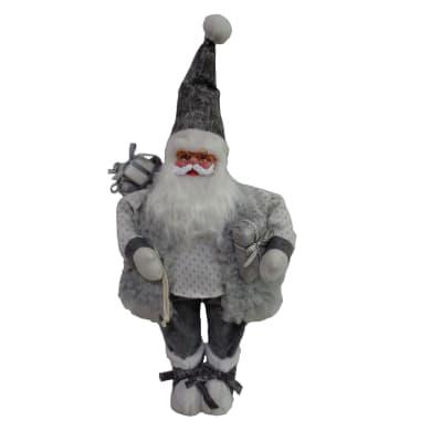 Babbo Natale in tessuto H 89 cm, L 38 cm  x P 23 cm
