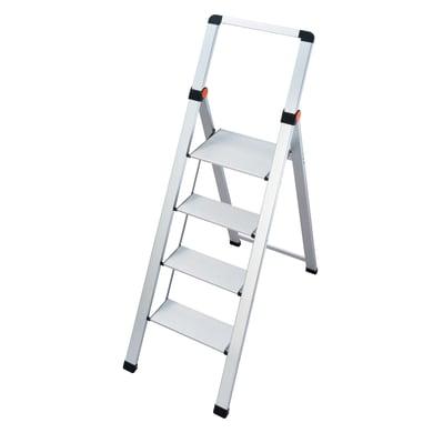 Scaletta in alluminio 4 gradini