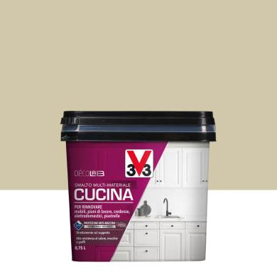 Smalto mobile cucina V33 0.75 l argilla