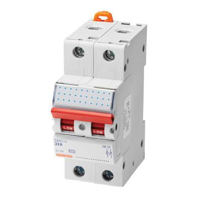 Sezionatore GEWISS GW96114 2 poli 32A 2 moduli 415V