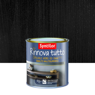 Smalto mobile cucina SYNTILOR 0.5 l nero metallizzato