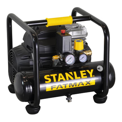 Compressore silenziato STANLEY FATMAX 1.5 hp 8 bar 6 L