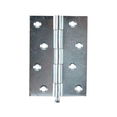 Cerniera piana 70 x 100 mm, acciaio,
