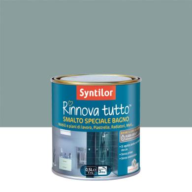 Smalto per piastrelle SYNTILOR 0.5 l grigio naturale