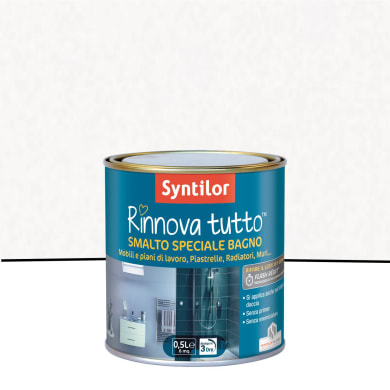 Smalto per piastrelle SYNTILOR 0.5 l bianco