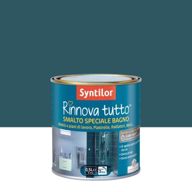 Smalto per piastrelle SYNTILOR 0.5 l blu profondo