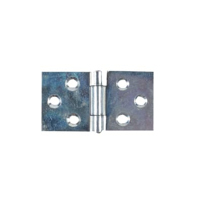 Cerniera piana 60 x 31 mm, acciaio, 2 pezzi