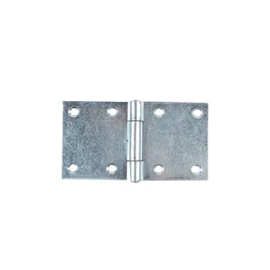 Cerniera piana 140 x 75 mm, acciaio, 2 pezzi
