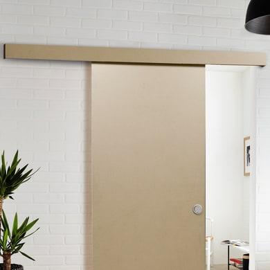 Binario per porta scorrevole Practical Beige L 1.9 m