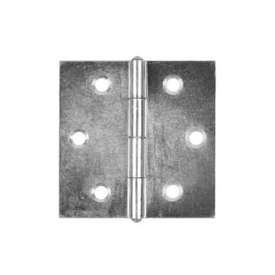 Cerniera piana 45 x 45 mm, ferro, 2 pezzi