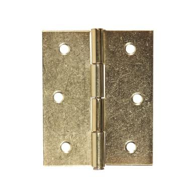Cerniera piana 50 x 60 mm, ferro, 2 pezzi