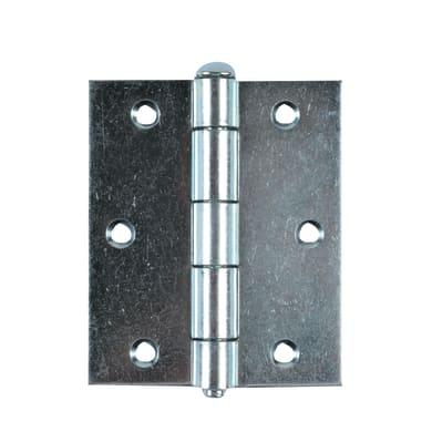 Cerniera piana 90 x 90 mm, acciaio,