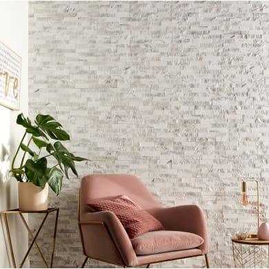 Rivestimento decorativo Pillar bianco e grigio