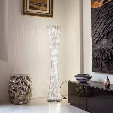 Lampada a clessidra 100 lampadine bianco caldo H 140 cm