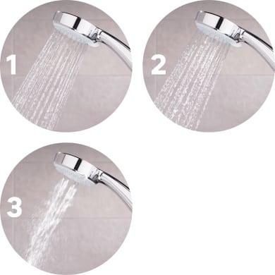 Kit doccetta, flessibile e supporto SENSEA argento