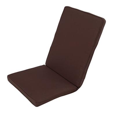 Cuscino monoblocco marrone 95x4 cm