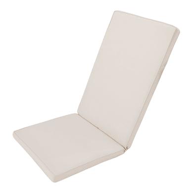Cuscino per sedia ecru 49x120 cm