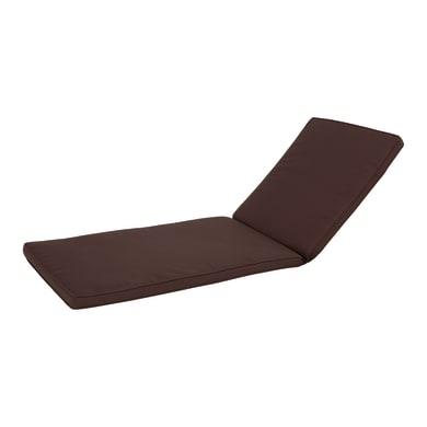 Cuscino per lettino marrone 190x5 cm