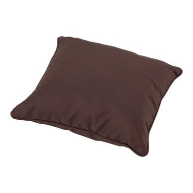 Cuscino da esterno MARJORIE marrone 40 x 40 x Sp 8 cm