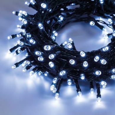 Catena luminosa 450 lampadine LED bianco freddo 1850 cm