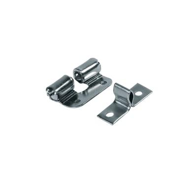 Chiavistello in metallo 24 x 31 mm