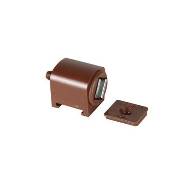 Chiusura magnetica in plastica 30 x 20 mm Ø 10 mm